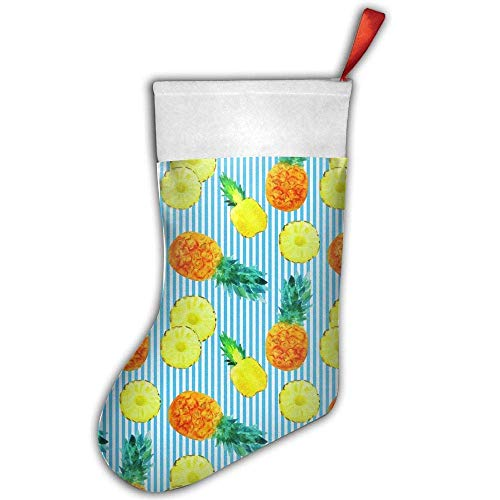 Girdsunp Conventional Stockings - Delicious Pineapple to Print Andiron Adornment,Funny ()