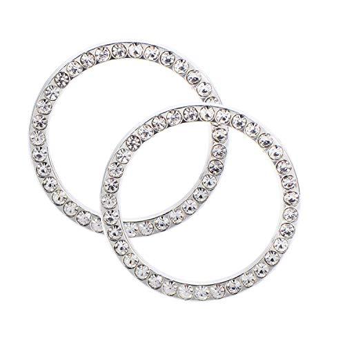 - EveryPossible 2 Pcs Bling Car Accessories Ignition Start Button Rhinestone Diamond Sticker