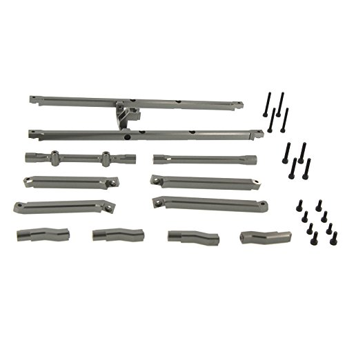 Chassis Top - Atomik RC Traxxas X-Maxx Alloy Chassis Top Brace, Grey TRX 7714X