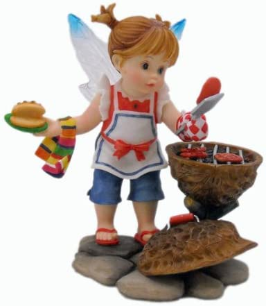 My Little Kitchen Fairies – Father s Day Cookout Fairy Figurine 4013237