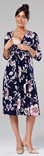 Felice Delle Dress Di Stile Vita Womens Sleeves 606p 3 Impero Empire Chelsea Maniche Mama Maternità Style Skater Waist Vestito 606p Long Mamma Lunghe Happy Donne Clark Chelsea Maternity 3 Clark Pattinatore qU7Owaxtf