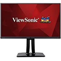 ViewSonic VP2771 27 IPS WQHD 1440p Pro Monitor HDMI, DisplayPort, USB 3.1 Type C, DaisyChain, Hardware Calibration
