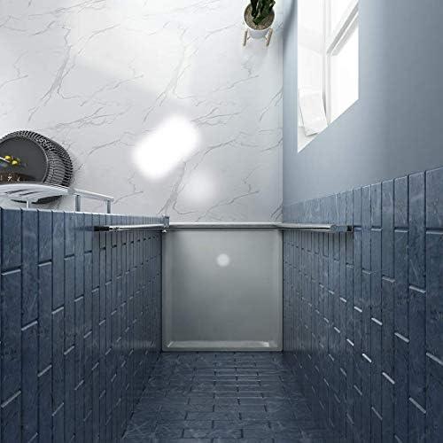 SUNNY ducha FP 32 Pivot Swing para mampara de ducha, cristal transparente, acabado cromado, 32