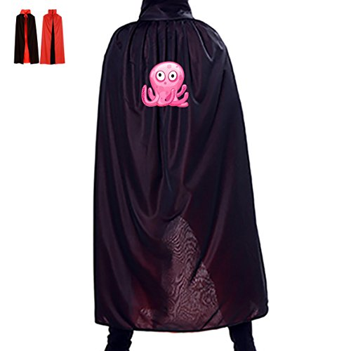 Homemade Autumn Fairy Costume - Beautiful Squid Fairy Halloween Party Cosplay Vampire Cloak for Adult Kids