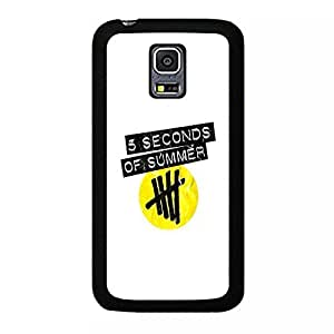 Samsung Galaxy S5 Mini case Clear The Seconds Of Summer Cartoon Anime Comics Character Disney for girls Theme Design Hard Plastic Durable Snap on Accessories Protective Case Cover for Samsung Galaxy S5 Mini