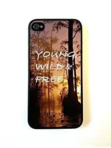 Young Wild And Free Woods Quote Case For Samsung Galsxy S3 I9300 Cover Case Fits Case For Samsung Galsxy S3 I9300 Cover Designer PC C...