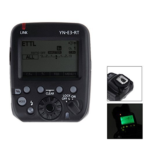 Generic YN-E3-RT Yongnuo Flash Speedlite Transmitter Compatible with 600EX-RT for Canon DSLR Camera