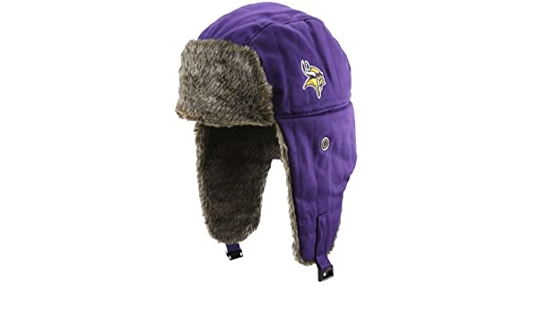 Amazon.com   Men s  47 Brand Minnesota Vikings Stevenson Trapper Hat One  Size Fits All   Sports Fan Novelty Headwear   Sports   Outdoors e7d9dddb30d