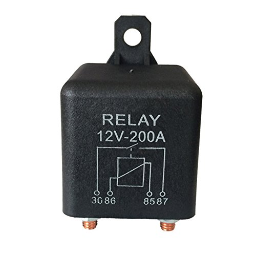 Charge fractionnee Robuste de Navire dautomobile Nrpfell 12V 200A Relais a 4 Broches normalement Ouvert