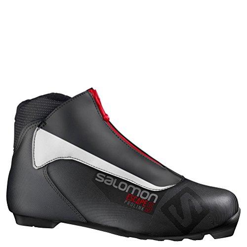 (Salomon Escape 5 Prolink NNN Cross Country Ski Boots - 6.0/Black)