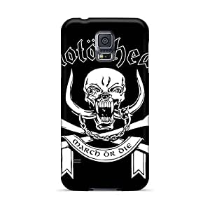 Perfect Cell-phone Hard Cover For Samsung Galaxy S5 (iTa15459jOmd) Allow Personal Design High Resolution Metallica Skin