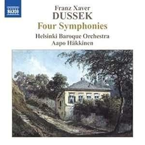 Dussek: Four Symphonies