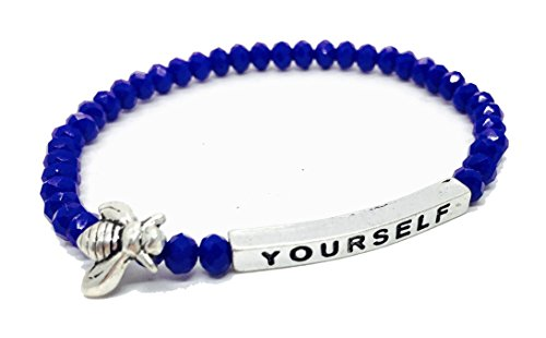 Yourself Inspirational Bracelet Stacking Stretch product image