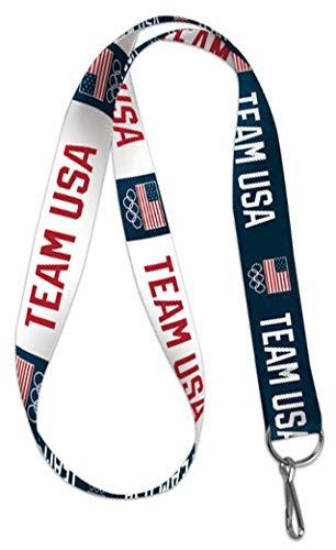 Lanyard Usa - WinCraft Olympics USOC Team USA Lanyard Key Chain, 20 inches