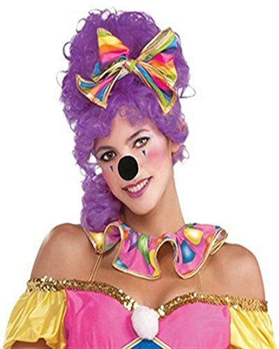 (Forum Novelties Black Foam Nose Clown Mouse Animal Mickey Minnie Halloween Costume)