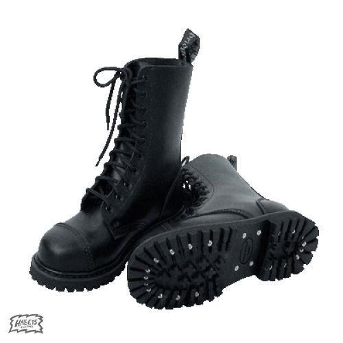 Botas de cordones, agujero{10} (colour: negro) 40, negro