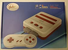 Yobo FC 2 Slim Game Top Loader Console System for NES & SNES & Super Famicom Games ( Red white)