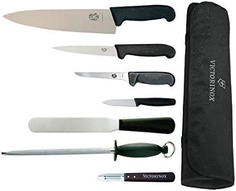 Compra Juego de cuchillos con cuchillo de cocina y estuche 25, 5cm Victorinox en Amazon.es