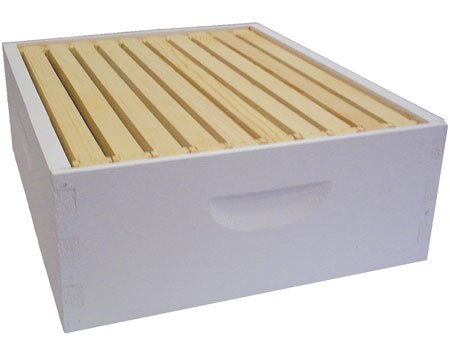 Bee Hive - 10 Frame Fully Assembled Add-on Shallow Super - The Perfect Hives for Beginners and Pro Beekeepers