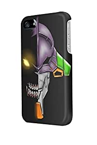 i50942 Evangelion 01 Glossy Case Cover For Iphone 5/5S by ruishername