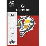 Papel Canson Color Vermelho Escuro A4 180g/m² com 10 folhas