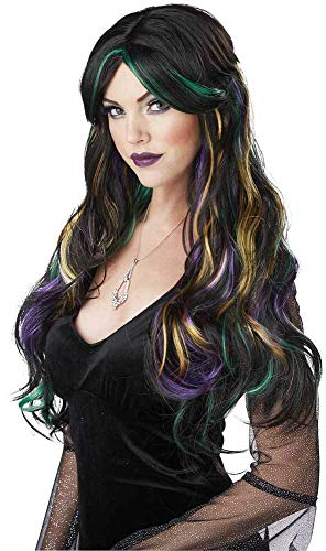 ESSA OAT clothes series Spooky Witch Ghastly Bewitching Dark Multi Layer Hair Wig Cut Adult Women