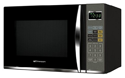 Emerson MWG9115SB, 1.2 Cu. Ft. 1100W Touch Control, Stainless Steel Microwave Oven with Grill
