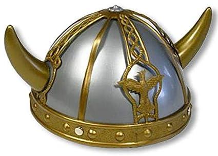 Casco vikingo para niños