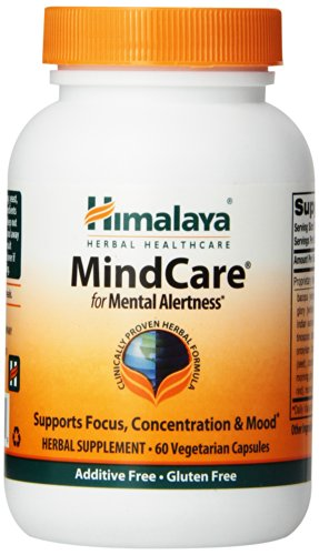 Himalaya Herbal Healthcare Mindcare / Mentat Вег-капсулы, 60-Count