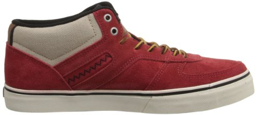C1rca Mens Union Fashion Sneaker Pompeian Red / Nomad