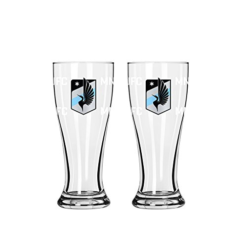 fan products of MLS Minnesota United FC Mini Pilsner, 2.5-ounce, 2-Pack