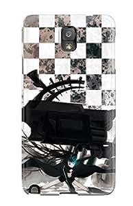 XjqYnsk12707zcrEL ZippyDoritEduard Black Rock Shooter Durable Galaxy Note 3 Tpu Flexible Soft Case