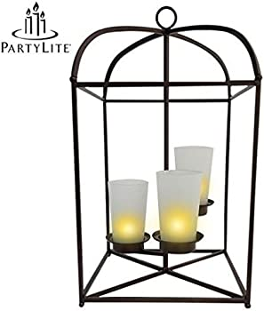 Popcandy PartyLite 3-Candle Lantern