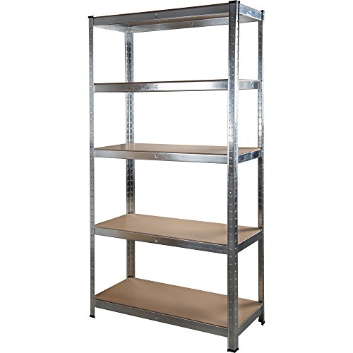 1.8M 5 Tier Heavy Duty Metal Shelving Unit Industrial Boltless Shelves Storage (1) by Marko Storage Solutions by JTF Mega Discount Warehouse