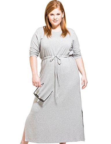 Scoop Neck Terry Dress - 6