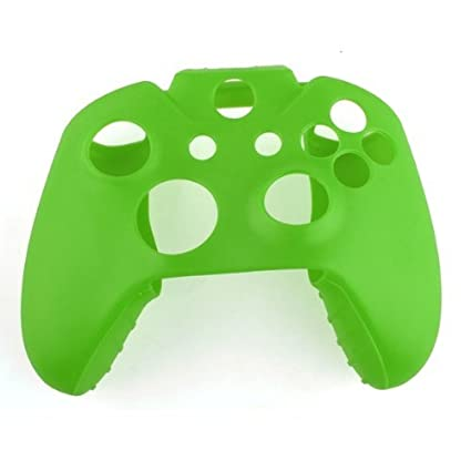 Funda Silicona Protectora de Mando Consola para XBOX ONE Color Verde