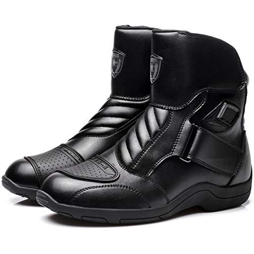 WERT Motorrad Schuhe Herren Sport Rüstung Schutz Motocross Onroad Boot Anti Slip Stiefel Lokomotive
