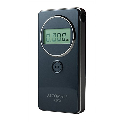 AlcoMate Revo Fuel-Cell Breathalyzer with Prism Technology by AlcoMate