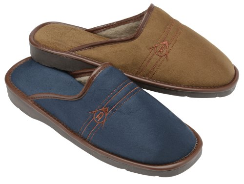 Dunlop  Howard, Herren Hausschuhe Blau blau