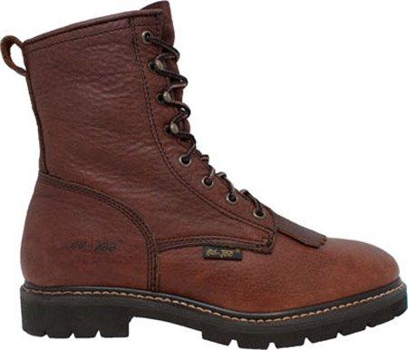 AdTec Womens 2180 8 Lacer Boot Chestnut Leather EnJYxH2tu
