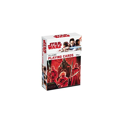 Star Wars : The Last Jedi Villains Playing Card Game