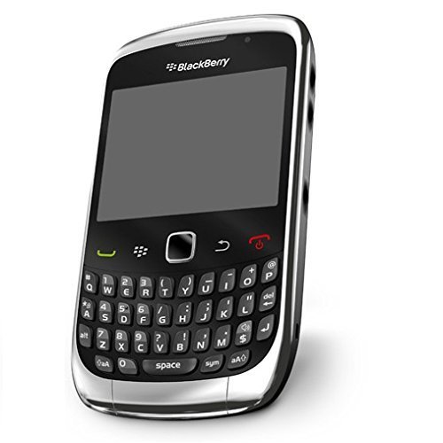 UNLOCKED RIM Blackberry 9300 Curve GSM Quad-Band Smartphone, Wi-Fi, GPS, SILVER CHROME and BLACK ()