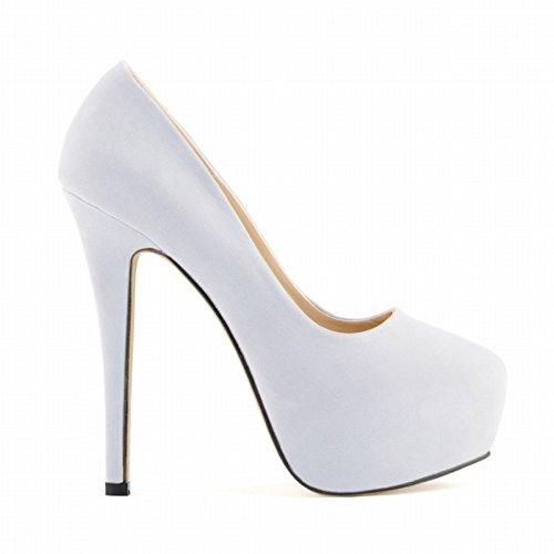 girls shoes White high heels ladies women party ladies wedding platform heels SODIAL stiletto R high 38 concealed xXwXAT0q