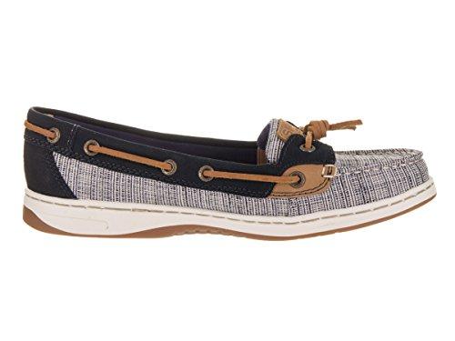 Sperry Top-sider Femme Dunefish Crosshatch Chaussure De Bateau Marine