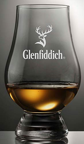 Glenfiddich Stag Logo Glencairn Single Malt Scotch Whisky Tasting Glass (Best Single Malt Under 100)