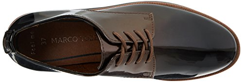 Femme Mocca Tozzi Marco Patcomb 23200 Oxfords Marron qw8xFt7