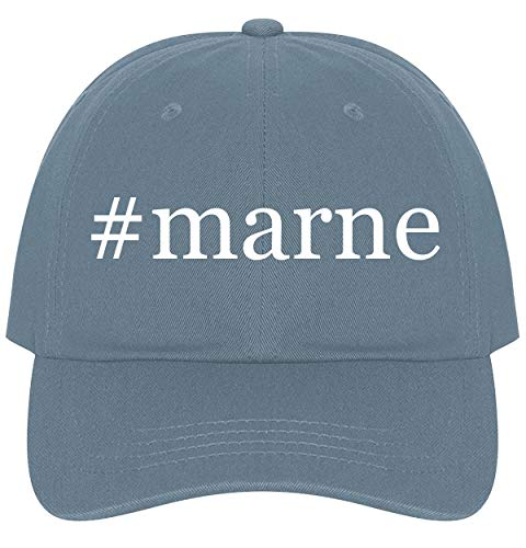 (The Town Butler #Marne - A Nice Comfortable Adjustable Hashtag Dad Hat Cap, Light Blue)