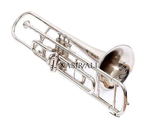 Nasir Ali, Valve Trombone Nickel Plated Bb