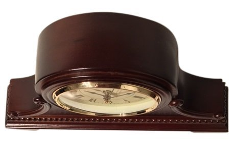 Vmarketingsite Decorative Mantel Clock with Westminster Chime, 9'' x 16'' x 3'', Walnut by Vmarketingsite (Image #1)
