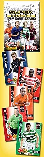 Panini 2009-10 Scottish Premier League Super Strikes Trading Cards (Box of 100 Packs) (2009 Panini)